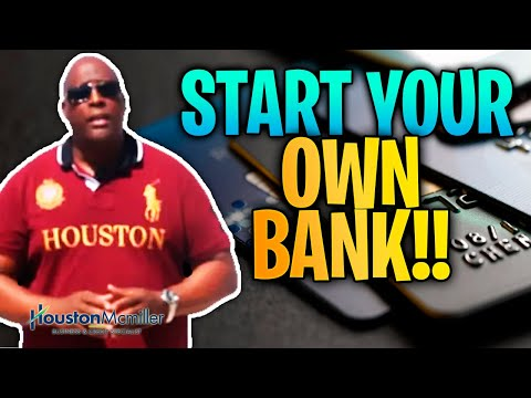 How To Start Your Own Bank Using American Express Business Credit Cards