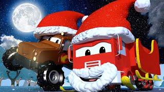 Troy de Trein Nederlands 🚄 Kerstmis - Een tas vol cadeautjes is uit de SLEE van de kerstman gevallen