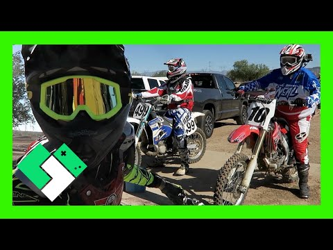 DAD RIDES MY OLD DIRT BIKE (Day 1639)