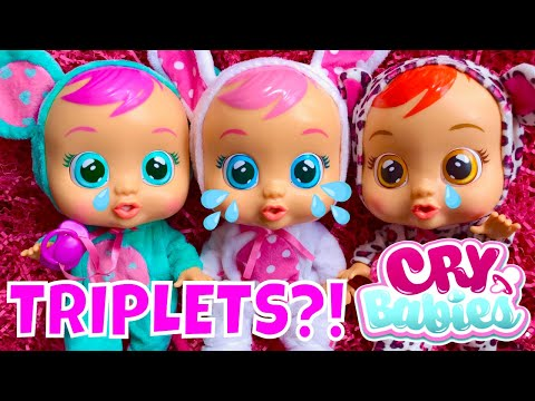 💥WOW! 😂Cry Babies Dolls Finally Available In The USA (July 2018) 🇺🇸 Unboxing & Review!