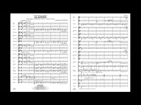 Aladdin (Medley) by Alan Menken/arr. Paul Jennings