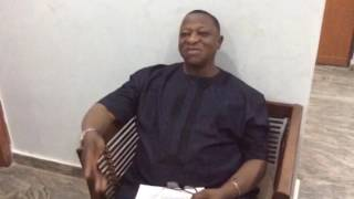 Interview with Senator Chief Joshua Dariye