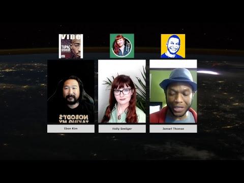 Independent Media Panel with Holly Seeliger, Jamarl Thomas, and Ebon Kim 06/09/2017