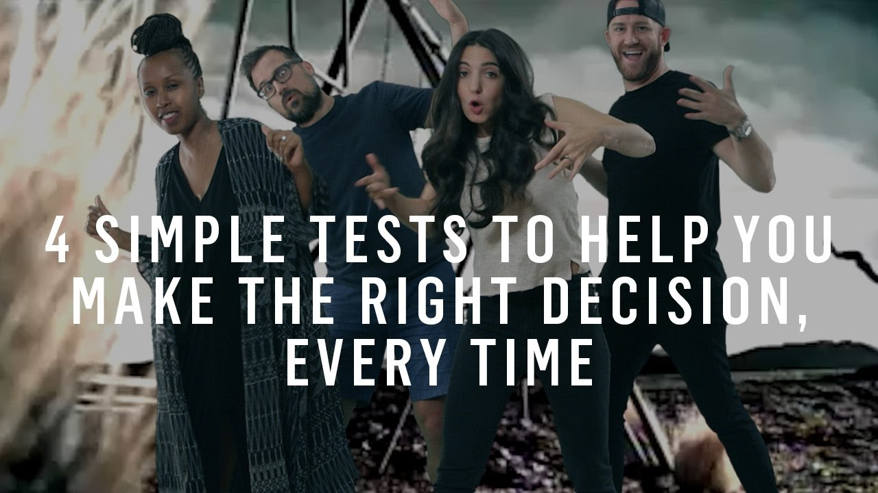 Weaker Gut Instinct Makes Teens Open To >> 4 Simple Tests To Help You Make The Right Decision Every Time