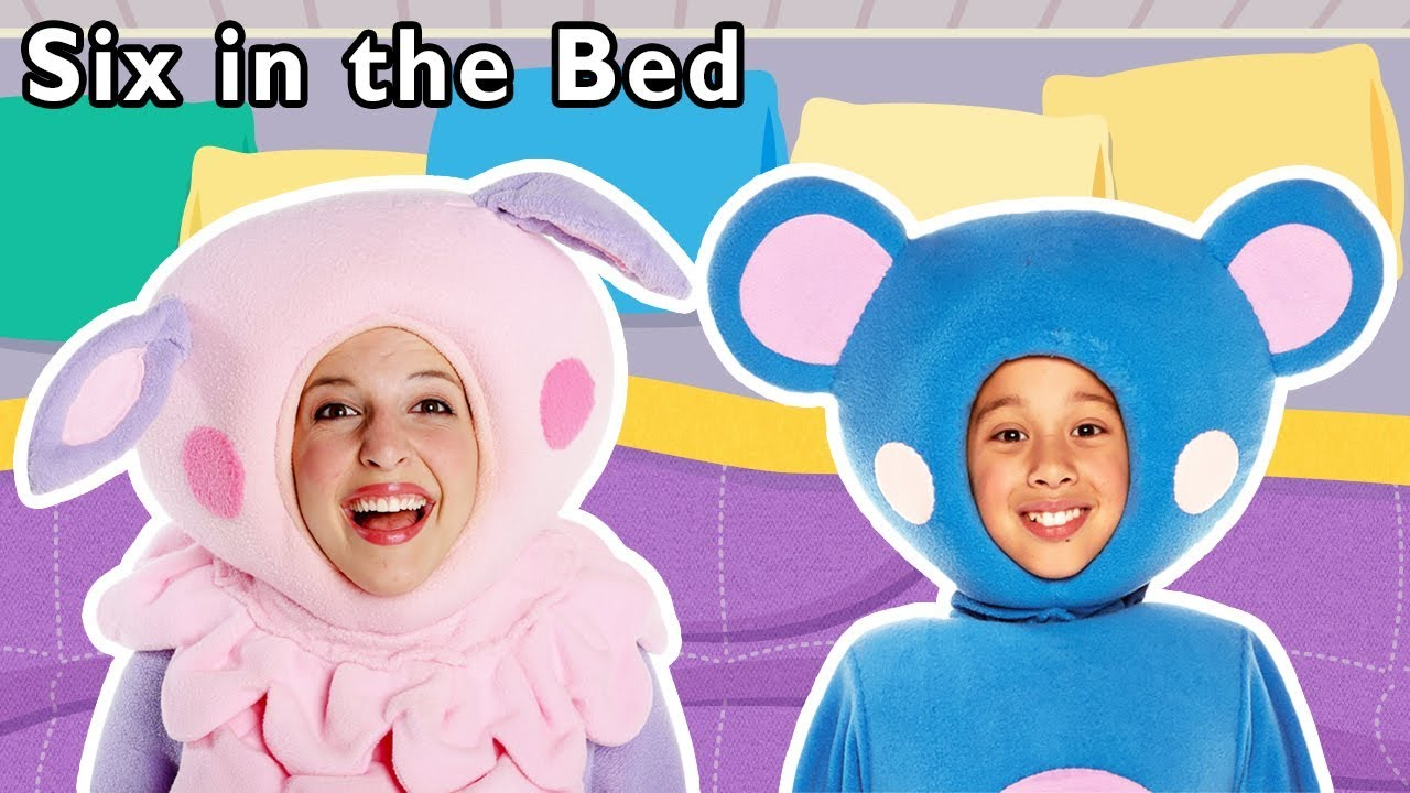 Six In The Bed More Sleepover Activity For Kids