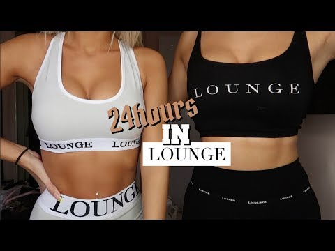 WE ONLY WORE LOUNGE FOR 24 HOURS | Is It Really Worth The Hype? | HAUL | AD