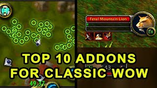 Top 10 Addons You Need for Classic WoW