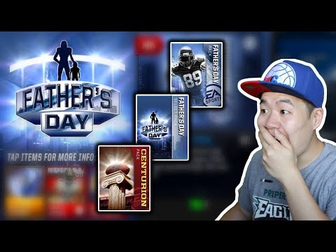 Father Day & Centurion Pack Opening - Insane 120 Ovr Pull!