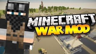 Minecraft: WAR MOD! (Bunkers, Grenades, Med Kits, & MORE!) | Mod Showcase