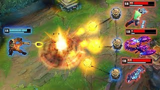 LEAGUE OF EXPLOSIONS MONTAGE - Deleting With EXPLOSIVE Damage