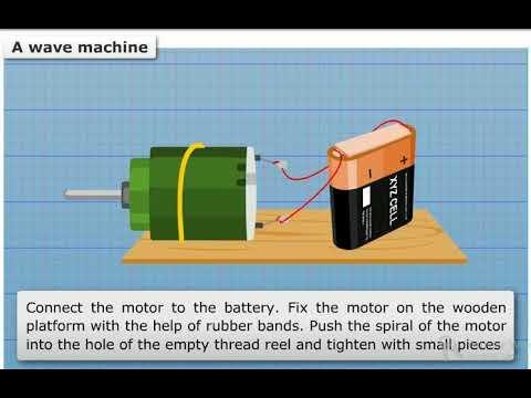 making a wave machine