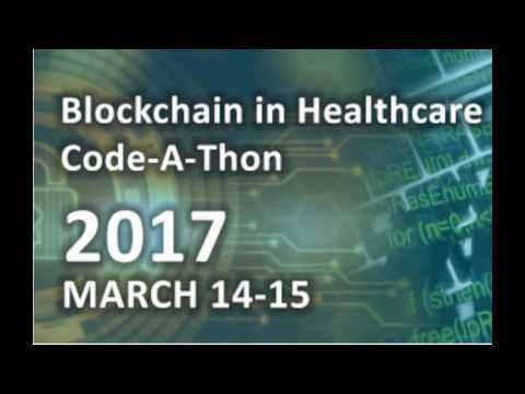 ONC DC Blockchain Code-a-thon Keynote address