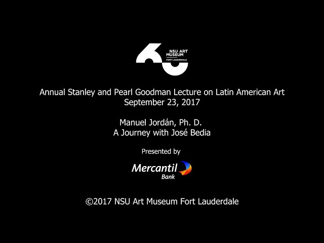 Annual Stanley & Pearl Goodman Lecture on Latin American Art
