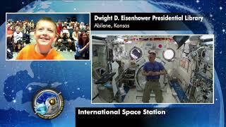 Expedition 56 Education Inflight Interview   Eisenhower Presidential Library   July 2, 2018 thumbnail