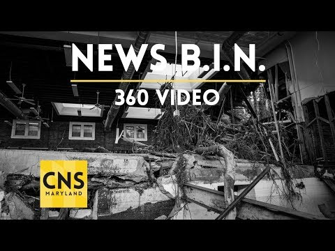 After the Floods; Rebuilding Ellicott City [360 video in 3D]