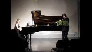 2014年の発表会です。 高木綾子さんの楽譜、ベストセレクションから...