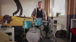 SONOR & FLORIAN ALEXANDRU-ZORN presents: the Safari, Martini and Bop Special Edition kits