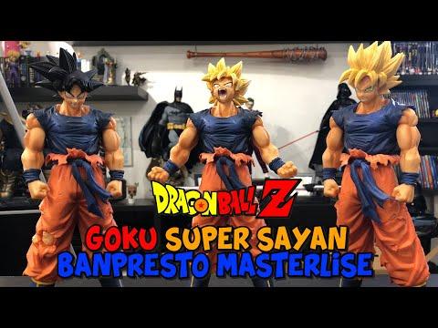 DRAGON BALL SUPER: GOKU SUPER SAIYAN LEGEND BATTLE - Banpresto Masterlise - Unboxing