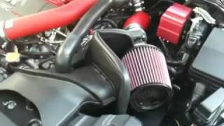 K&N Typhoon Intake on 2010 EVO X Before & After