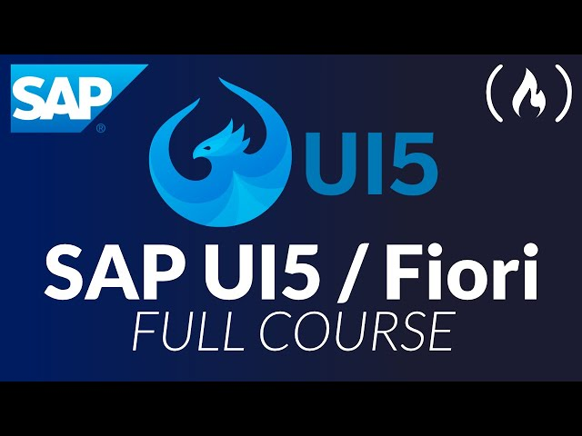 SAP UI5 / Fiori - Full Course