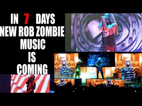 Rob Zombie teases new material Finally! The wait is over!!  Oct 30th..!
