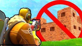I WON WITHOUT BUILDING à FORTNITE BATTLE ROYALE! AUCUN DÉFI DE CONSTRUCTION ! !