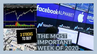 THE STOCK MARKET IS GOING TO GO CRAZY THIS WEEK! FANG EARNINGS! - My Watchlist - 3 STOCKS TO BUY NOW