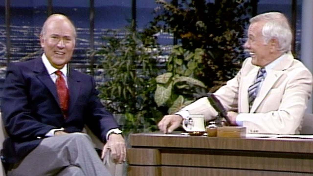 Carl Reiner Talks About His Insecurities on The Tonight Show Starring Johnny Carson - 01/04/1983