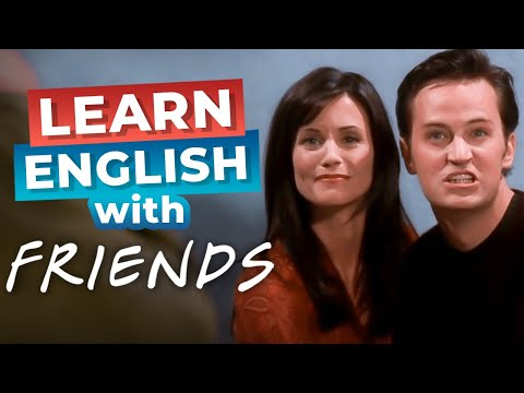 Speak English Better with FRIENDS | Chandler's Smile [Funny