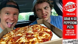 The Original Gino's Pizza Food Review | Series Road Trip to Toledo