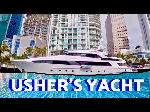 Miami Boat Show 2017 Usher's Yacht Hyatt Regency Best Tour Video