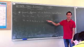 Intro to Arithmetic Progressions (2 of 3)