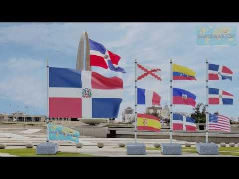 Himno y banderas de República Dominicana  | Dominican Republic flags and anthem