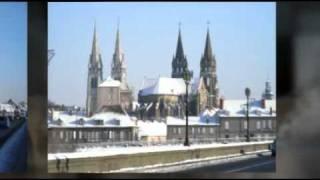moulins sous la neige