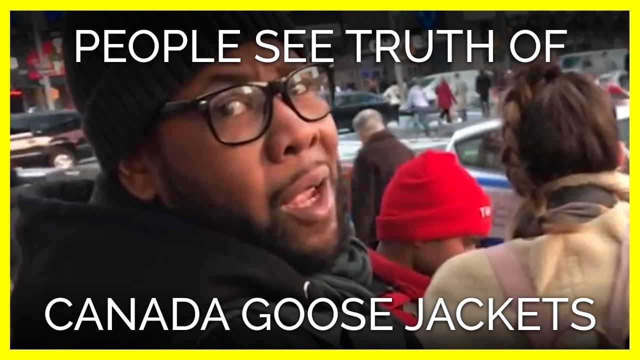 canada goose real fur peta