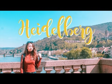 ASHLEY TRAVELS TO EUROPE: PART 2 {COLOGNE, HEIDELBERG}