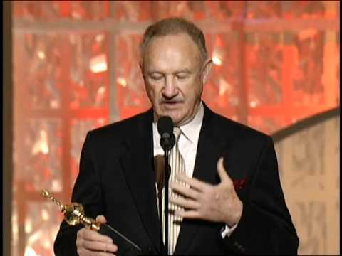 Gene Hackman Wins The Cecil B. DeMille Award - Golden Globes 2003