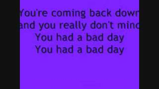 Daniel Powter Bad Day Lyrics