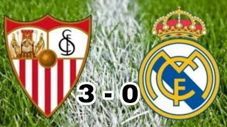 Download Video Sevilla vs Real Madrid | 3 - 0 | Liga Española | Resumen y Goles MP3 3GP MP4