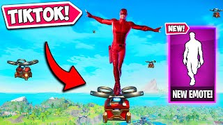 *NEW* VIRAL TIKTOK DANCE IS HERE!! - Fortnite Funny Fails and WTF Moments! #1067