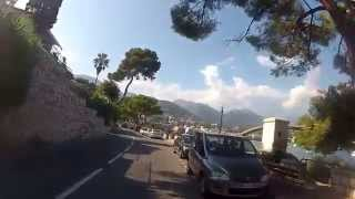 France-italy border area. french riviera. cycling europe. fatih aksoy.