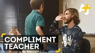 Teacher Compliments Students And It's Turning His Classroom Around
