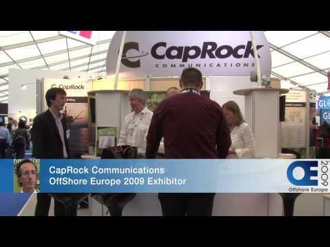 OffShore Europe 2009 - CapRock Communications & Nimlok Partnership