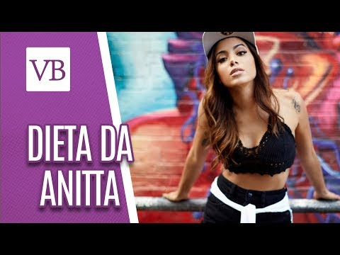 Dieta da Anitta - Você Bonita (25/05/18)