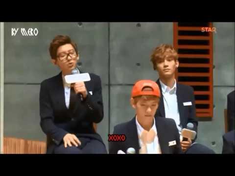 اغنية Xoxo مع النطق EXO
