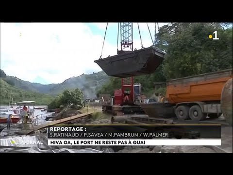 Le port de Hiva Oa s'agrandit