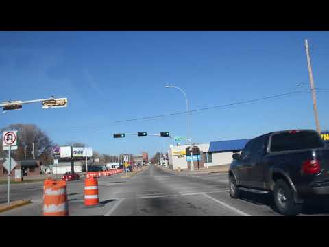 A drive through Grand Island, Nebraska