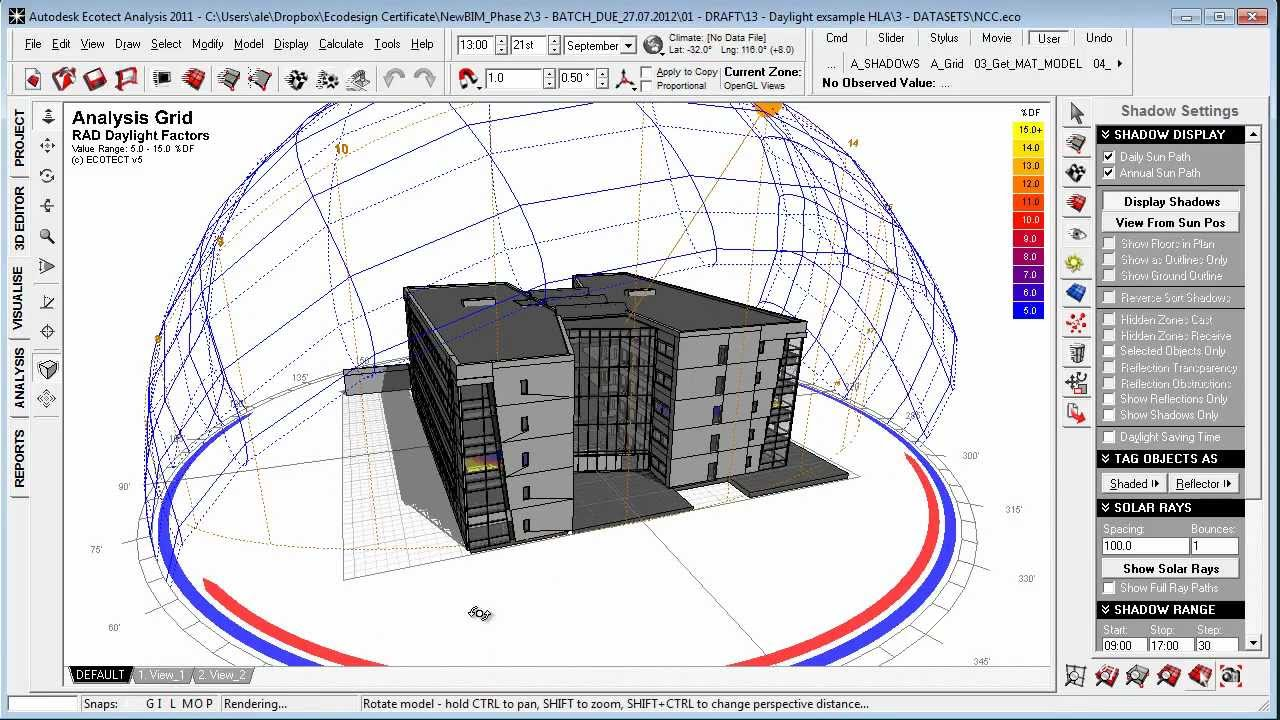 How To Conduct A Case Study Architectural Design Daylighting Case Study In Autodesk Ecotect From Henning