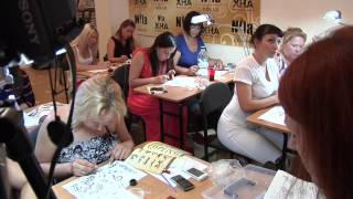 Тату хной - мастер класс Искусство Мехенди, обучение росписи хной, биотату(19 июня в Харькове прошел семинар