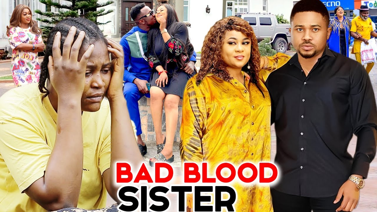 Download Bad-Blood Sisters & The Handsome Prince 7&8 - 2021 Latest Nigerian Movies | Full Nigerian Movies